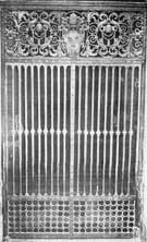 cancello di Papa Urbano VIII basilica S. Pietro