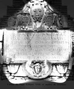 arma di Papa Urbano VIII